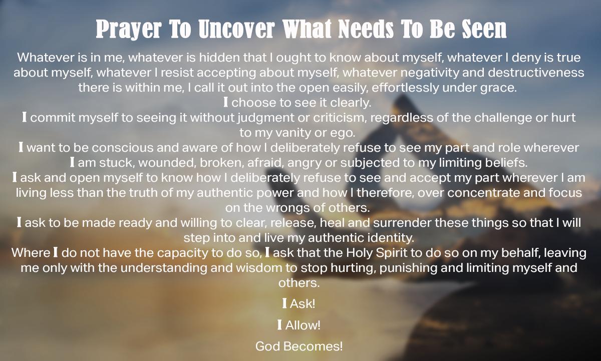 Iyanla Vanzant prayer